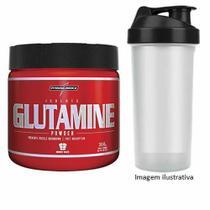 Glutamine Powder - Natural 300g  + Coqueteleira - Integralmédica - Integral Médica