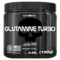 Glutamine turbo caveira preta - glutamina - 150g -