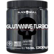 GLUTAMINE TURBO - L-Glutamina + Maltodextrina - CAVEIRA PRETA BLACK SKULL -