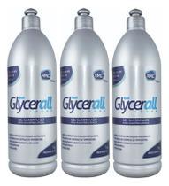 Glycerall 1kg Rmc Gel Para Radiofrequência - Kit com 3 -