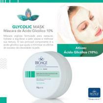 Glycolic Mask Máscara Facial De Ácido Glicólico 10% Bioage -