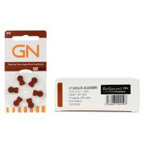 GN RESOUND 312 / PR41 - 10 Cartelas - 60 Pilhas Aparelho Auditivo -