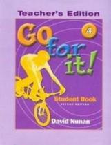 Go for it! tb 4 - 2nd ed - National geographic & cengage elt -
