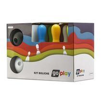 Go Play Kit Boliche com 6 Pinos Indicado para +3 Anos Multikids - BR946 -