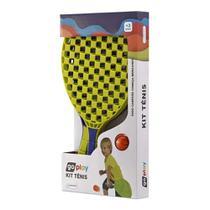 Go Play Kit Tênis com 2 Raquetes e Bolinha Multikids - BR949 -