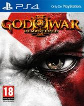 God of War 3 Remastered Mídia Física Original PS4 Lacrado - Sony