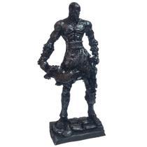 God Of War Kratos Boneco Prateado Action Figure Decoração Escritorio - Websize