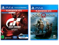 God of War Santa Monica Studio + Gran Turismo - Sport PlayStation Hits Polyphony para PS4