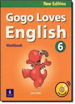 Gogo loves english wb 6 w/cd n/e - Pearson (importado) -