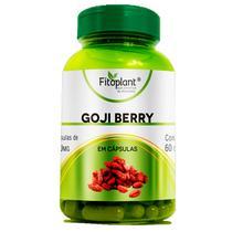 Goji berry 120 Cápsulas 500mg Fitoplant -
