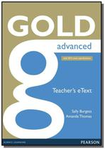 Gold advanced etext teacher cd-rom - Pearson -