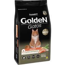 Golden gato adulto castrado salmão 10kg - Premier