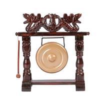 Gongo de mesa oriental dragão 30 cm - Bali