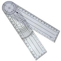 Goniômetro Grande Ortopedico Articular 20cm Pvc Trident -