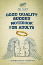 Good Quality Sudoku Notebook for Adults  Variety Puzzle Book with 240 Tests - Speedy publishing llc