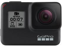 "GoPro Hero 7 Black 12MP 4K Wi-Fi Bluetooth 2"" - a Prova de Água com Bateria"