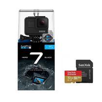 GoPro Hero7 Black com Cartão Extreme 32 GB -