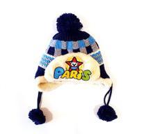 Gorro Touca Infantil Lã Dupla Térmica Azul - Goldleaf