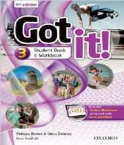 Got It! 3 - Students Book And Workbook With Online - 02 Ed - Oxford