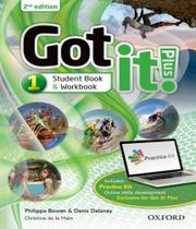 Got It! Plus 1 - Students Book Pack - 02 Ed - Oxford
