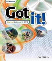 Got It! - Starter And Level 1 Dvd - 02 Ed - Oxford -