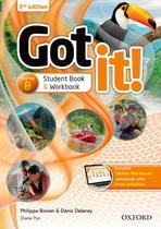 Got it! starter b sb/wb with multirom - 2nd ed - Oxford University