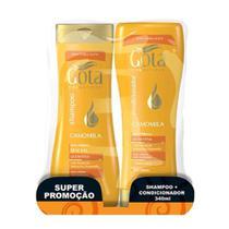 Gota Dourada Camomila Shampoo + Condicionador 340ml -