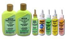 Gota Dourada Kit Shampoo e Condicionador Queratrix +5 Tônicos -