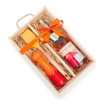 Gourmet Box: Vinho Rosé Borsao + Espátula e Moedor Le Creuset - Found It!