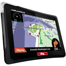 "GPS 7"" com TV Digital, Câmera de Ré Aquarius 4 Rodas MTC4760 -"