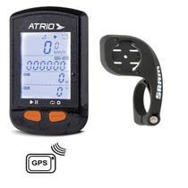 Gps Atrio Steel Bi 132 Bluetooth e Sensor Cadência + Suporte Sram -