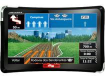 """GPS Automotivo Aquarius Guia Quatro Rodas Tela 4.3"""" -"""