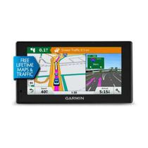 """GPS Automotivo Garmin 6"""" com Mapa do Brasil 2020 e Conectividade com Smartphone -"""