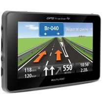 GPS Automotivo Multilaser Tracker GP034 4,3 Pol TV Digital Alerta Radar Touchscreen Leitor E-Book