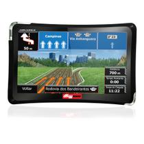 "GPS Automotivo Quatro Rodas 4.3"" MTC4310 Slim - Aquarius"