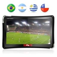 "GPS Automotivo Quatro Rodas 4.3"" MTC4374 com TV Digital - Aquarius quatro rodas"