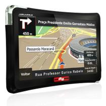 "GPS Automotivo Quatro Rodas 5.0"" MTC4508 com TV - Aquarius"