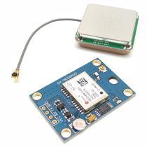 Gps Blox Neo 6m Antena Nmea Gy-gps6mv2 Drone Rs232 Arduino - Mj