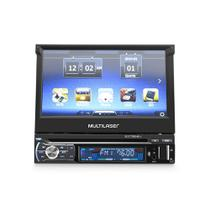 GPS Extreme+ com som automotivo DVD Player tela 7