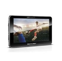 GPS LCD 7 Pol. Touch Tv Digital Rádio FM Função Tts Multilaser - GP038 -