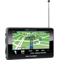 "GPS Multilaser Tracker III Tela 4.3"" TV Digital GP034 Preto -"