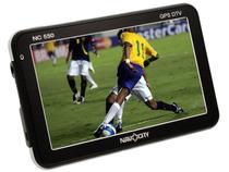"""GPS NavCity NC 550 Tela 5"""" com TV Digital  - Bluetooth + Alerta Radar + Mapas 3D"""