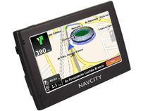 """GPS NavCity Way 40 Tela 4,3""""  - 1.300 Cidades Mapeadas + Mapas 3D"""