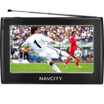 GPS Veicular (4,3pol) Navicity WAY 45 - Preto - Navcity