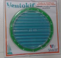Grade adesiva acrílico transparente D. 10 para vidro. - Westaflex