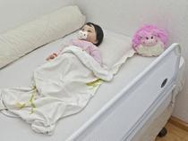 Grade Branca Para Cama Infantil Super Luxo Tubline - Grade Cama