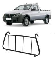 Grade de Proteção Vidro Traseiro Vigia - Fiat Strada 2001 a 2013 - Ccf