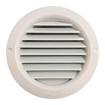 Grade de Ventilação Redonda Fixa com Colarinho 100mm - Sicflux