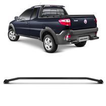 Grade de Vidro Fiat Strada 2014 A 2015 Preta Proteção do Vidro Traseiro Vigia - Prime
