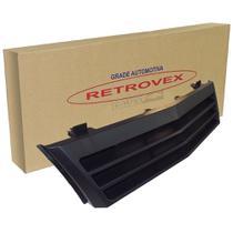 Grade Do Radiador Preta Com Ar Retrovex Monza 1988 A 1990 Rx12025 -